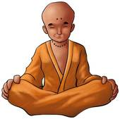Buddhist Monk Clipart And Stock Illustrations  46 Young Buddhist Monk