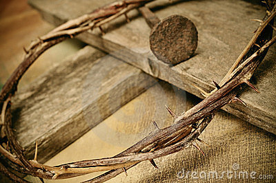 Crown Of Thorns And Nails Clipart Crown Thorns Cross Nail