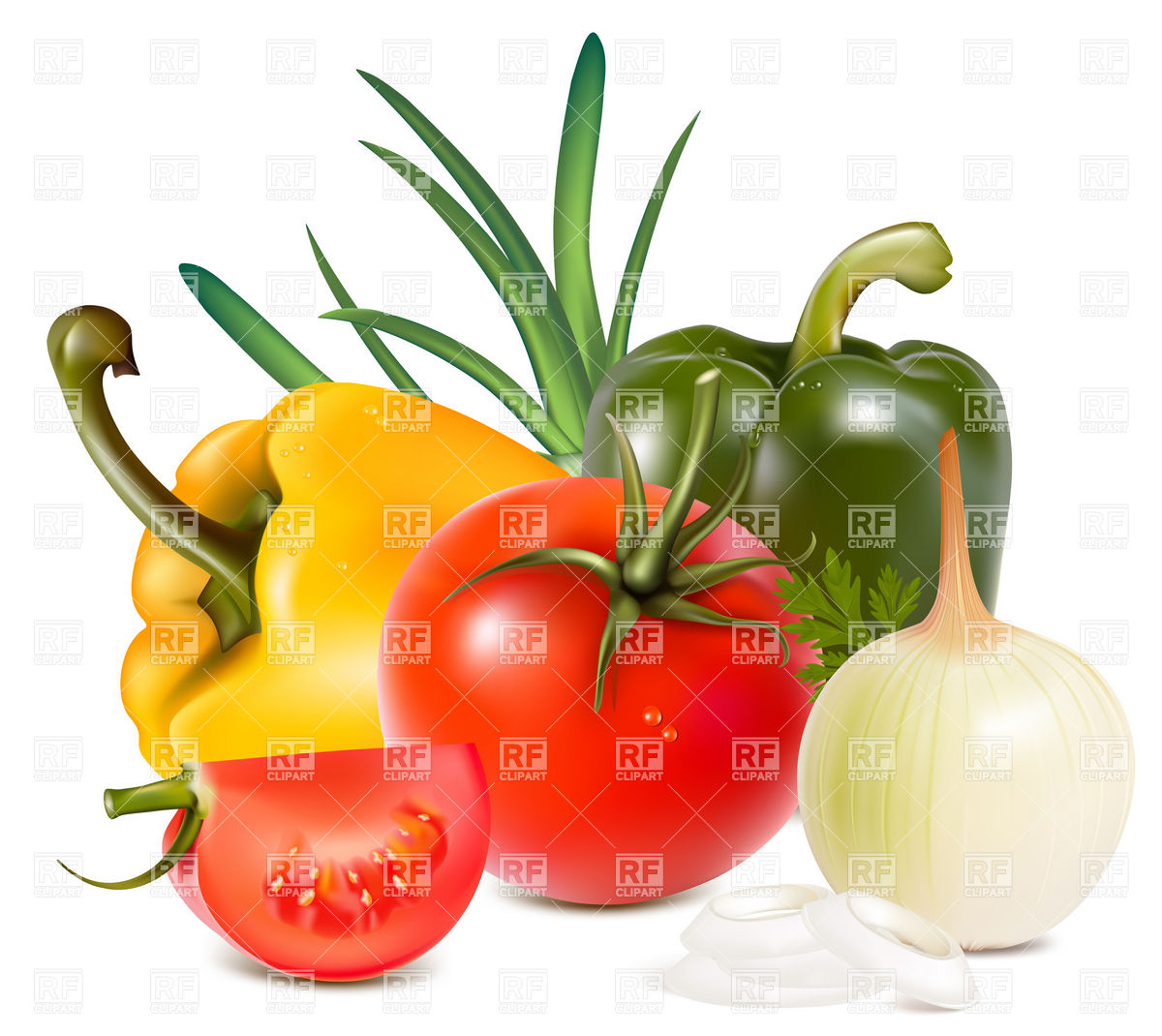 Fresh Vegetables 5178 Food And Beverages Download Royalty Free