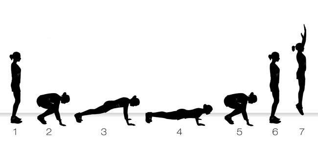 Harder Modification To A Full Burpee