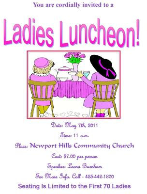 Ladies Luncheon Image Search Results