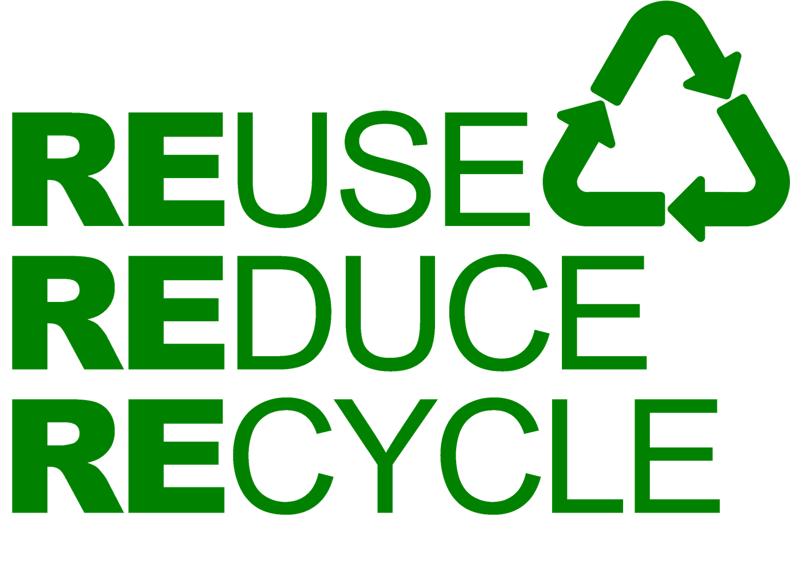 Learning Gateway Reuse Reduce And Recycle #Bp2iKc - Clipart Kid