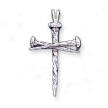 Photo   Two Bloody Nails In The Form Of A Christian Cross Casting A