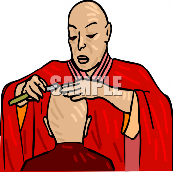 Royalty Free Clipart Of Buddhism