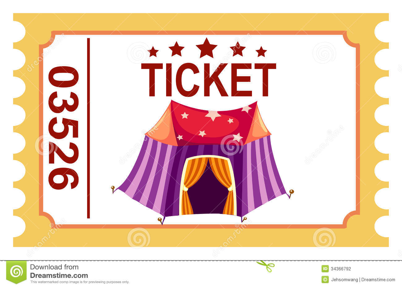 circus ticket clipart clipart suggest Blank Ticket Stub Clip Art Blank Ticket Stub Clip Art