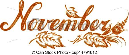 Month Of November Clipart - Clipart Suggest