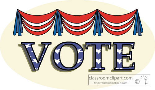 Voting   Vote24   Classroom Clipart