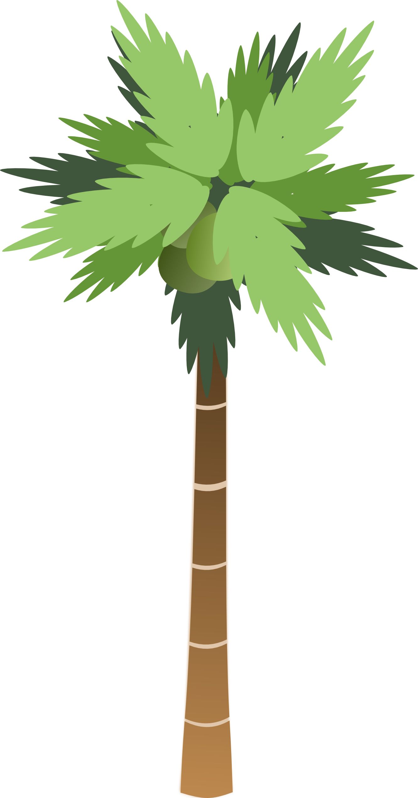 Christmas Palm Tree Clip Art - Synkee