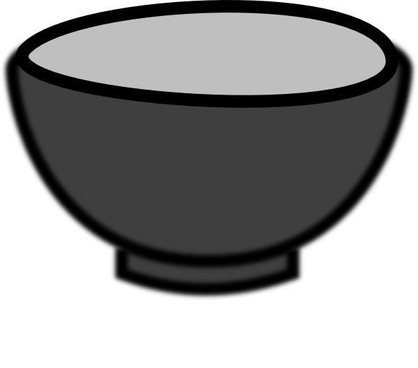 Bowl Clip Art At Clker Com   Vector Clip Art Online Royalty Free