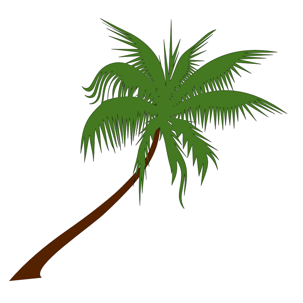 Christmas Palm Tree Clipart - Clipart Kid