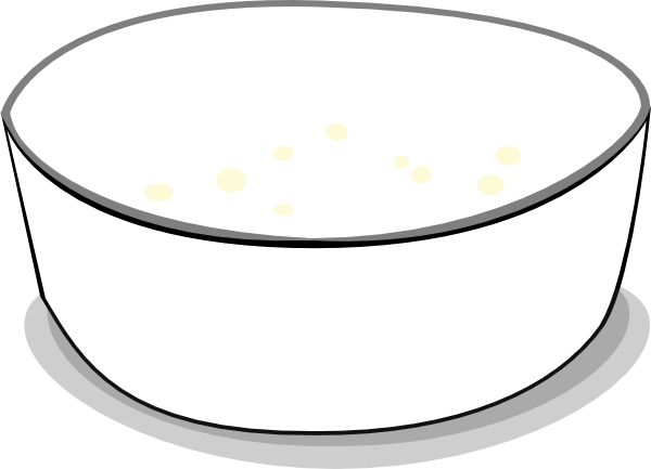Clip Art Empty Cereal Bowl Clipart - Clipart Suggest