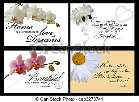 Inspirational Quotes    Csp3273741   Search Clipart Illustration