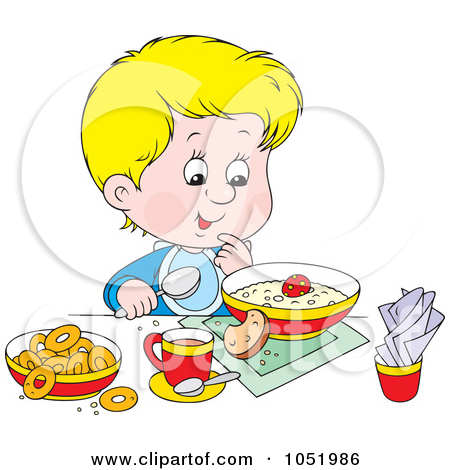 Healthy Family Eating Clipart - Clipart Kid
