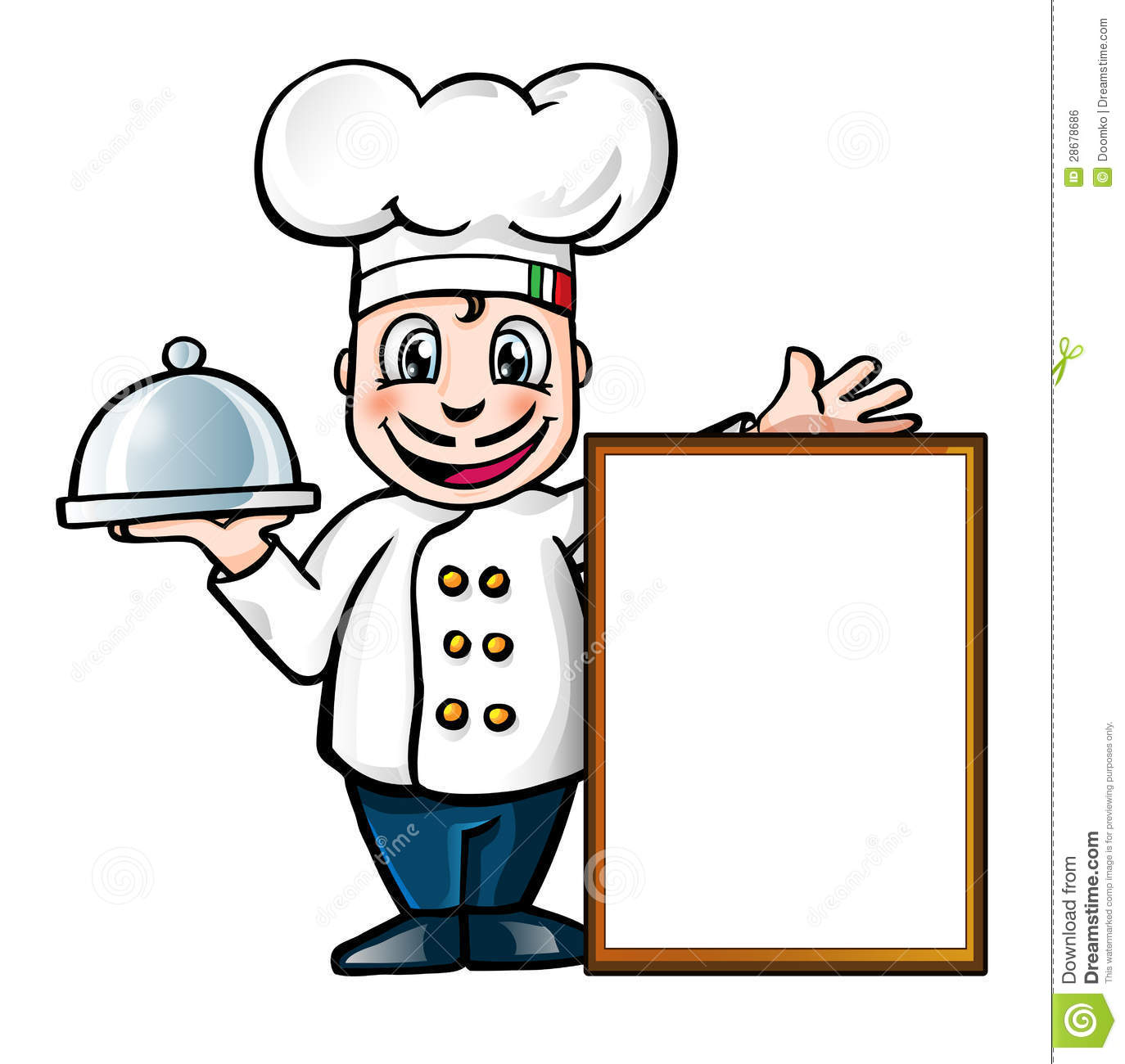 Italian Female Chef Clipart - Clipart Kid