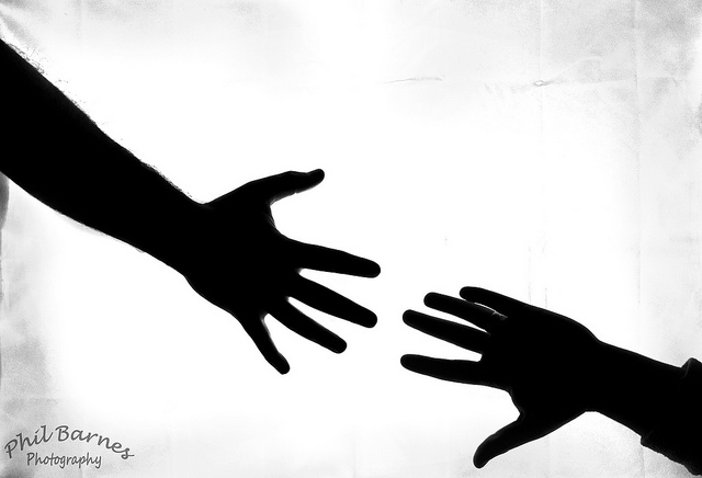 Reaching Hand Silhouette   Clipart Panda   Free Clipart Images