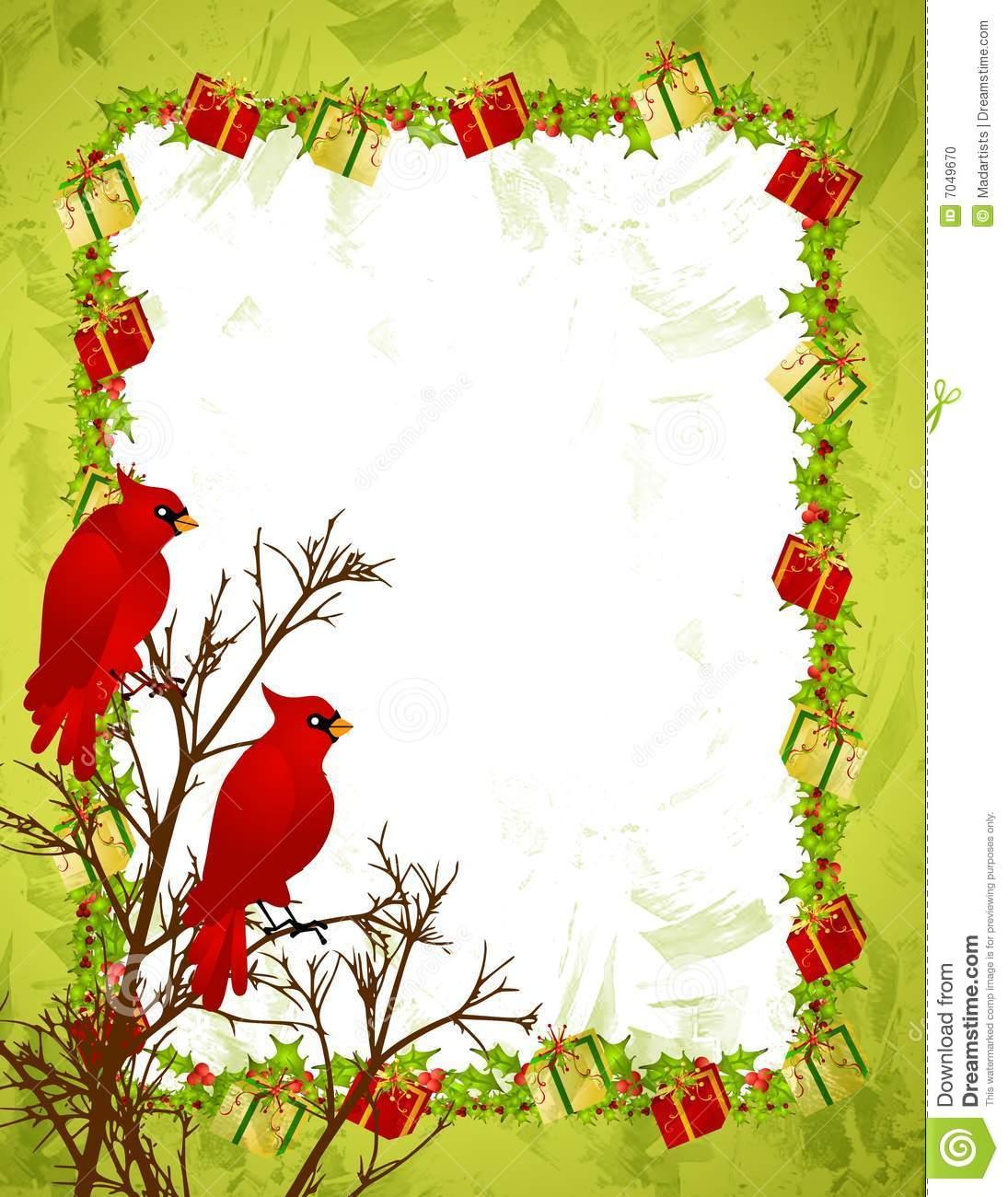 Winter Birds Borders Clipart - Clipart Kid