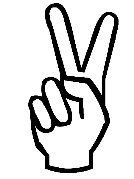 15 Cartoon Peace Sign Hand Free Cliparts That You Can Download To You