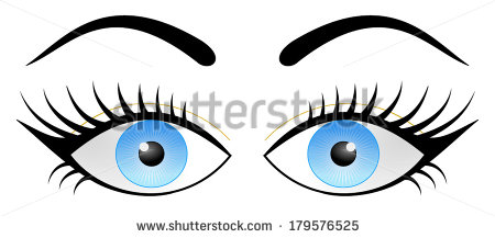 how to draw cartoon eyelashes