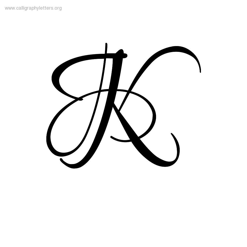 Calligraphy K Clipart - Clipart Suggest