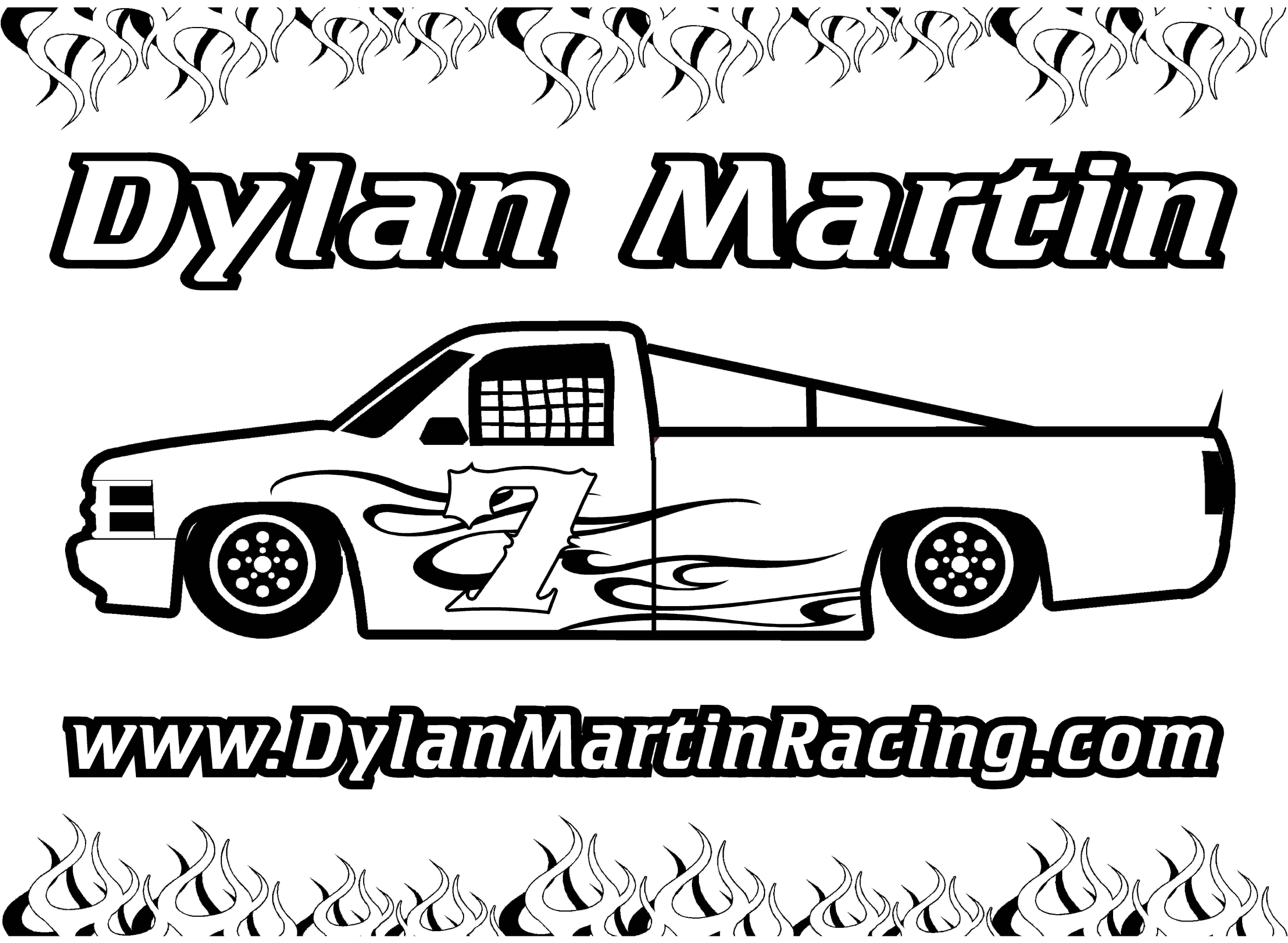 late model coloring pages | Outlaw Sprint Kart Clipart - Clipart Suggest
