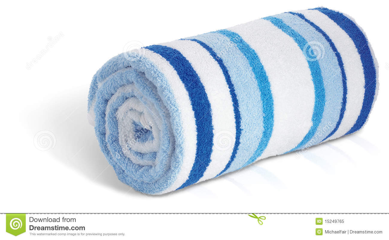 Rolled Up Towel Clipart - Clipart Suggest