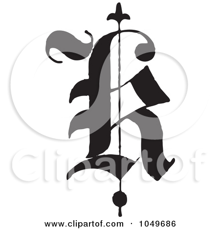 Calligraphy K Clipart Clipart Kid