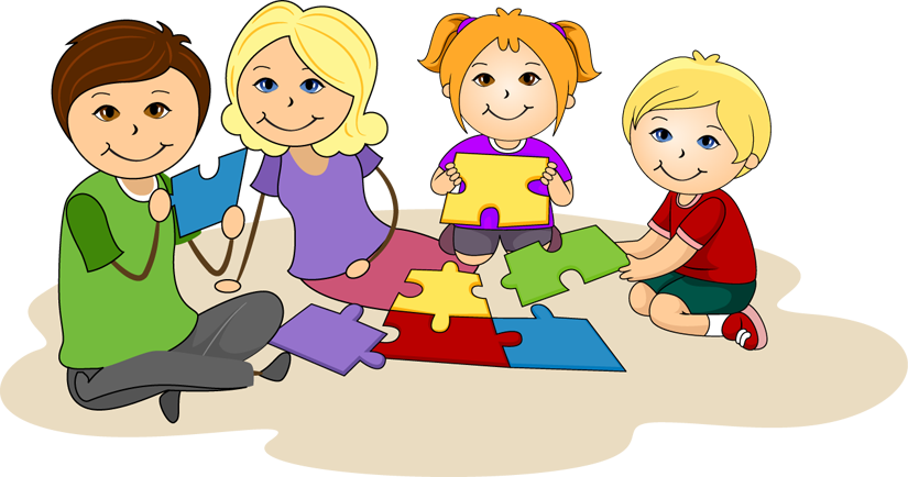 Students Working In Groups Clipart - Clipart Kid