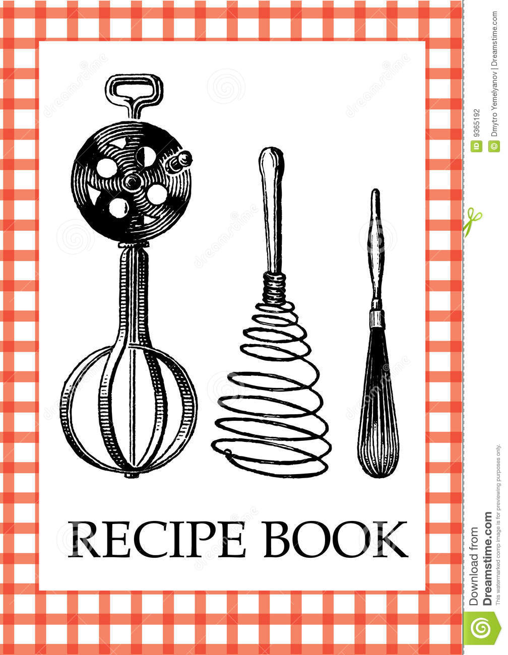 Cookbook Cover Clipart - Clipart Kid