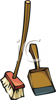 Broom And Dust Pan   Clipart Panda   Free Clipart Images