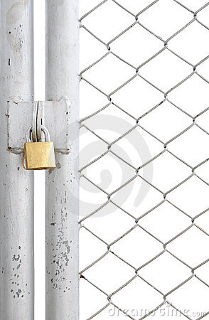 Chain Link Fence Gate Clipart Chain Link Fence Metal Door