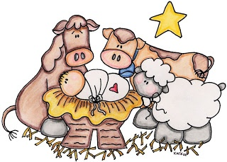 Cute Nativity Clipart   Christmas   Pinterest
