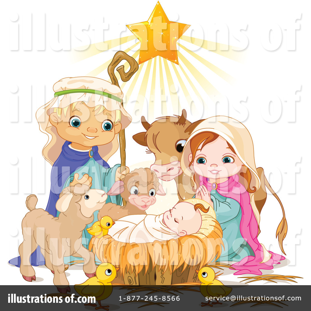 Cute Nativity Clipart  Rf  Nativity Clipart