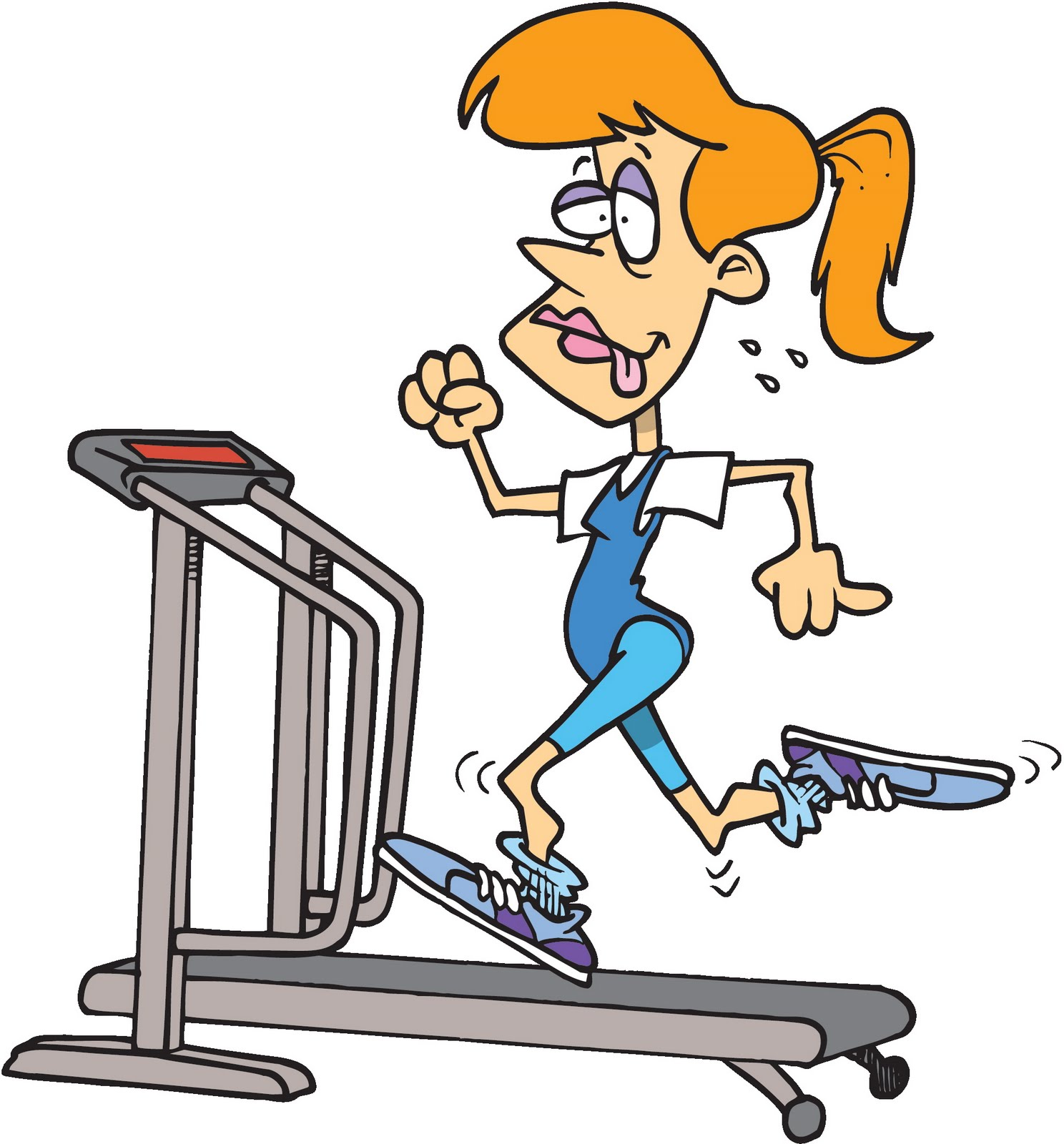 fitness animated clipart - photo #4