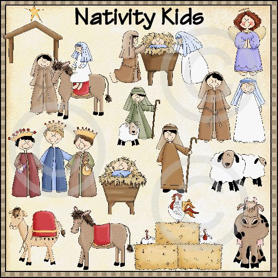 Nativity Kids Gif 550 550 Pixels   Baby Jesus   Pinterest