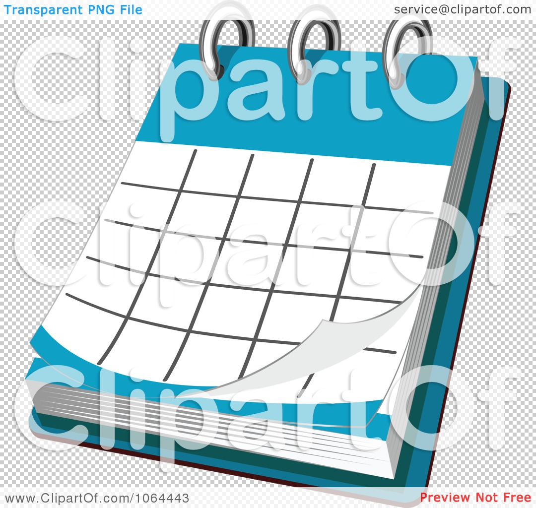 Clipart Desk Calendar   Royalty Free Vector Illustration By Seamartini