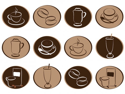 Coffee Clipart Set   Coffee Clipart   Coffee Icons   Coffee Vector