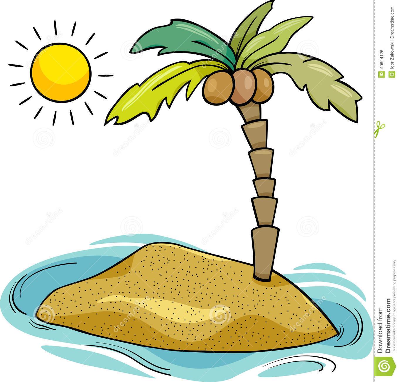 Desert Island Clipart - Clipart Kid