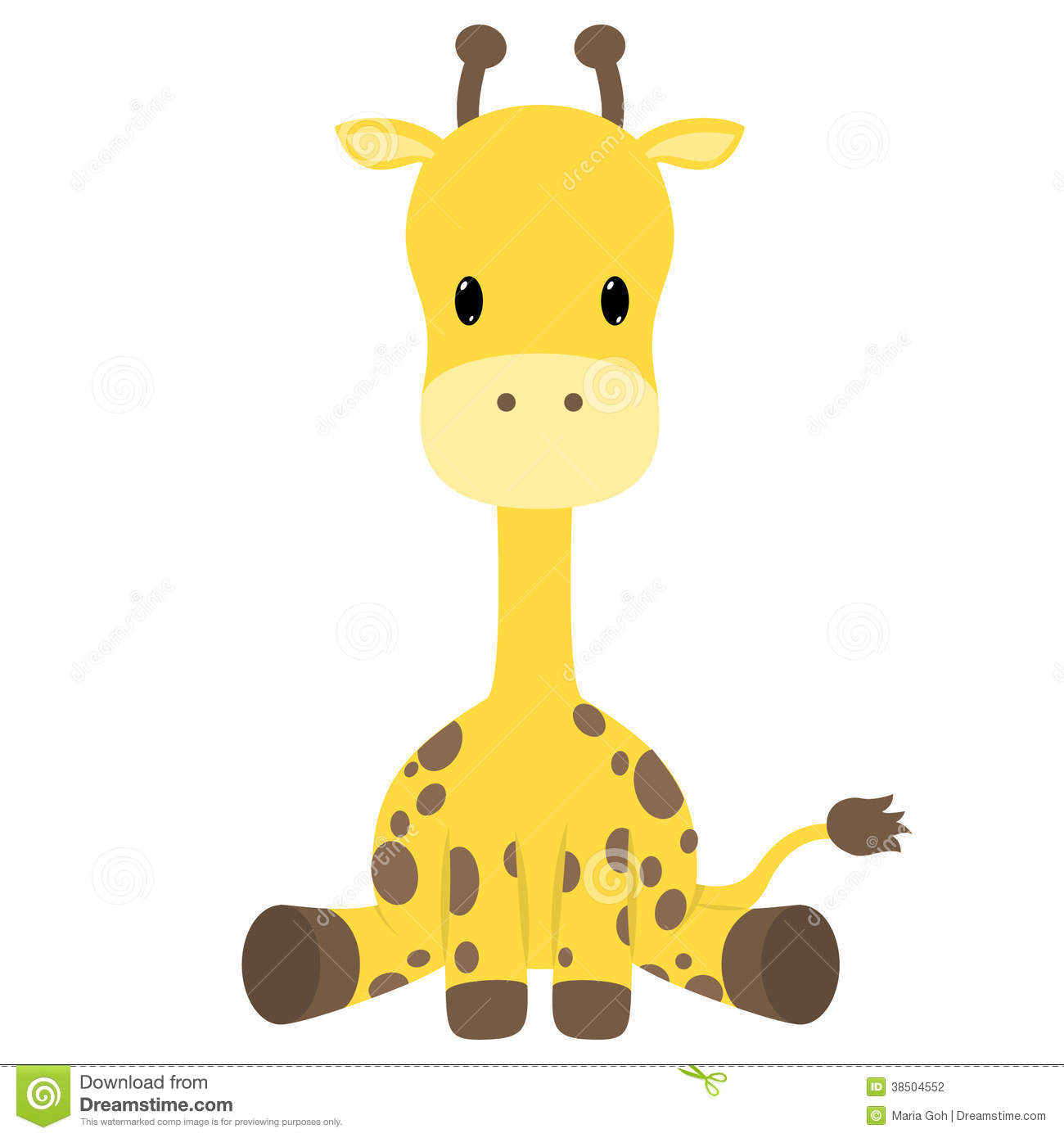 Giraffe Stock Photography   Image  38504552
