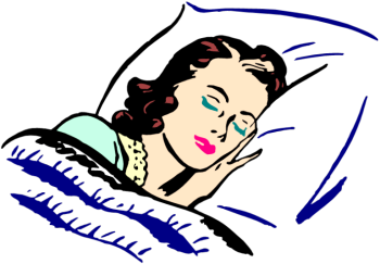 Image result for sleeping clipart