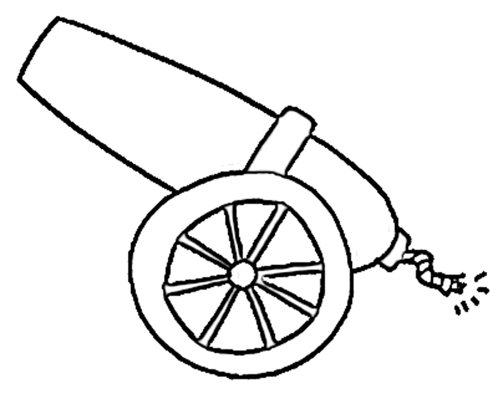 Clip Art Cannon Clipart printable of cannons clipart kid posted by john andersen in patriotic on july 28 2011 no responses