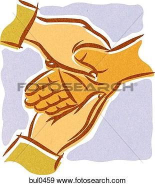 Hands Giving Acupressure Therapy  Fotosearch   Search Vector Clipart