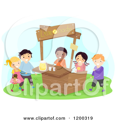 Royalty Free  Rf  Lemonade Stand Clipart   Illustrations  1