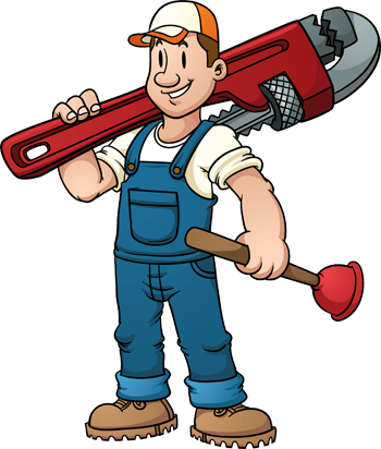 Image result for cartoon plumbers