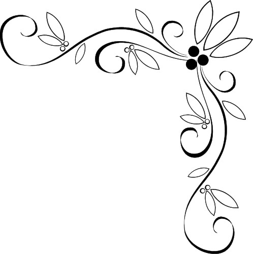 Wedding Corner Border Clipart   Clipart Panda   Free Clipart Images