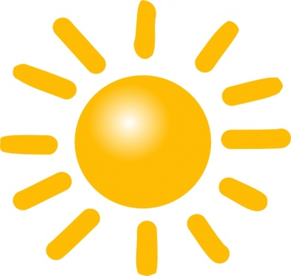 Wetter Sonnig Clipart Cliparts Kostenlose Clipart ...