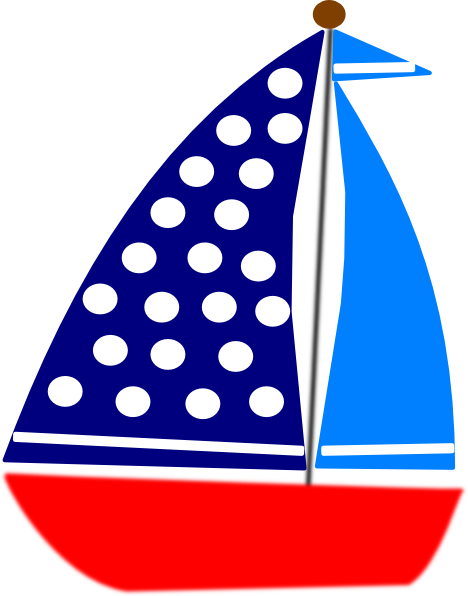 Blue Sailboat Clipart Clipart Panda Free Clipart Images