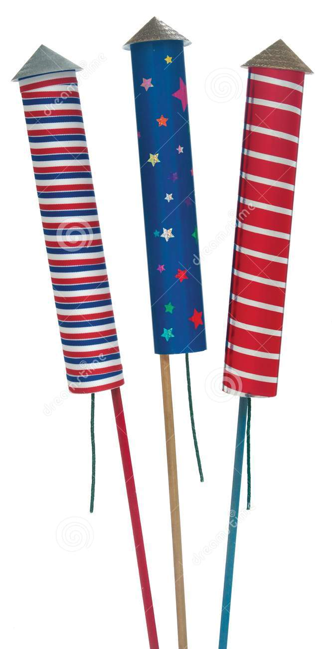 Red White And Blue Fireworks White Background   Clipart Panda   Free