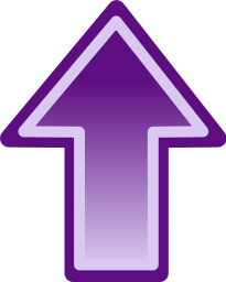 Shaded Purple Up   Http   Www Wpclipart Com Signs Symbol Arrows Arrows