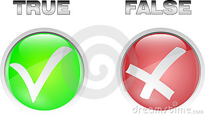 True Or False Yes Or Not Icon Set
