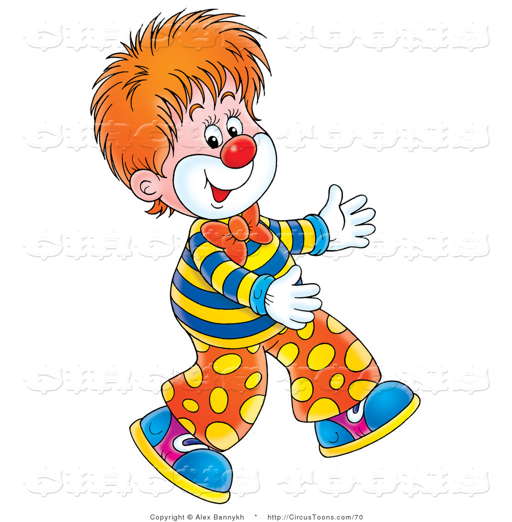 Vintage Clown Clipart - Clipart Kid